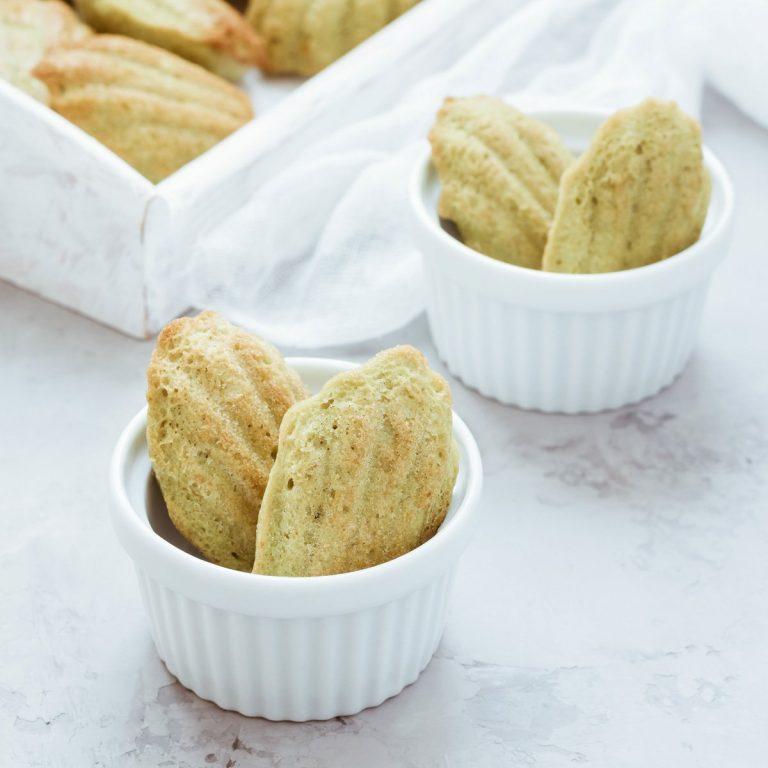 madeleines aux petits pois