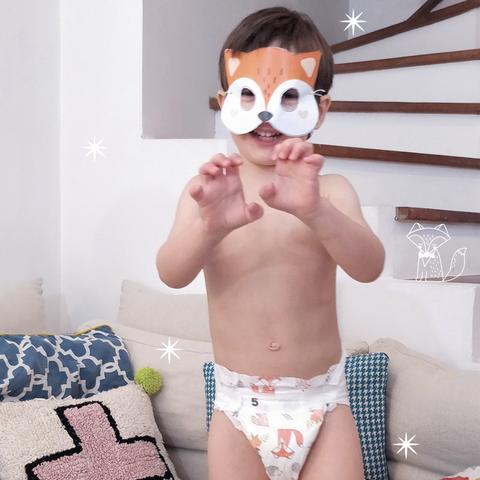 masque renard bebe