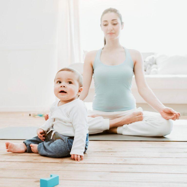 méditation bébé