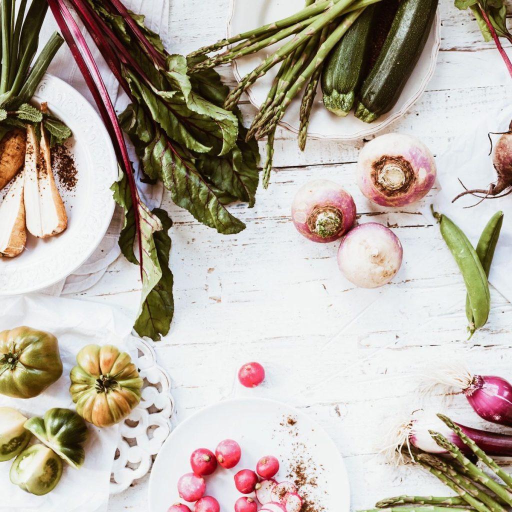 les aliments du printemps
