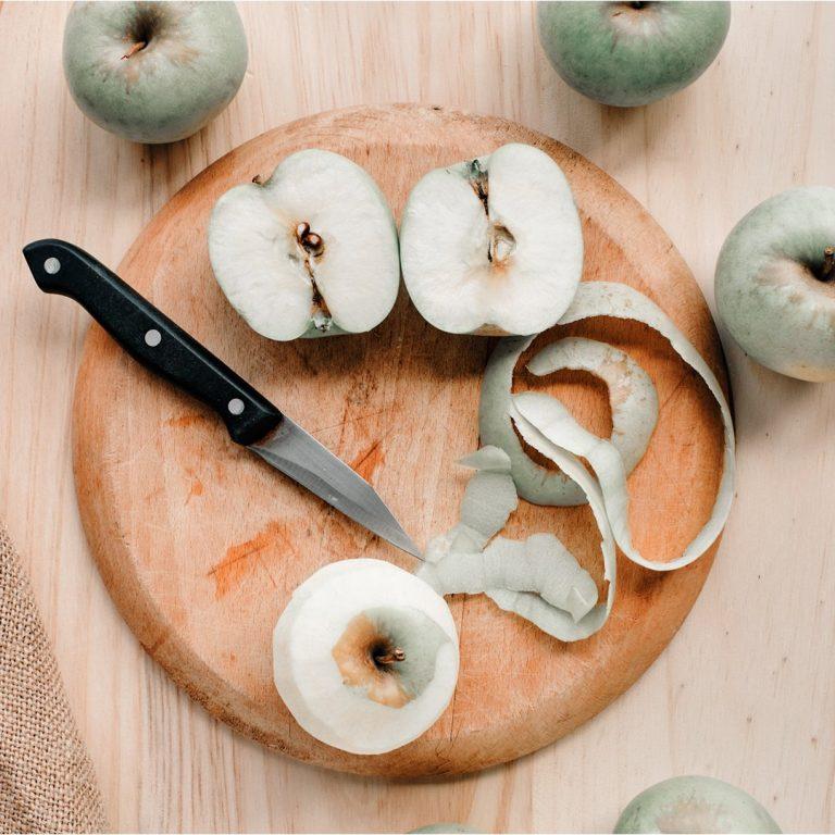 épluchures de pommes