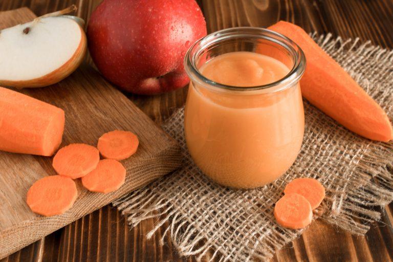 recette de compote de pomme et de carotte