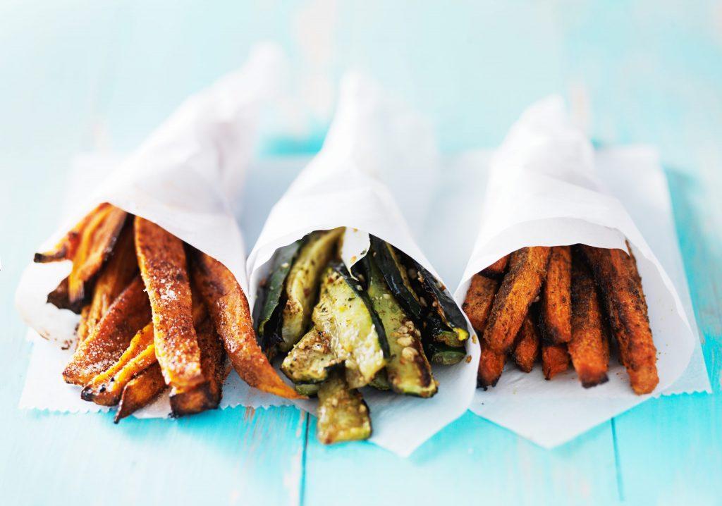 recette de frites de legumes