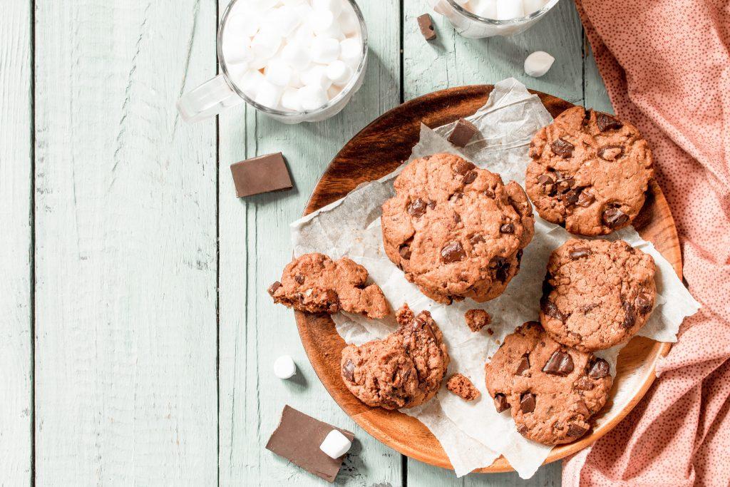 Pois chiches dans la recette des cookies aux pépites de chocolat, vous voulez goûter ?