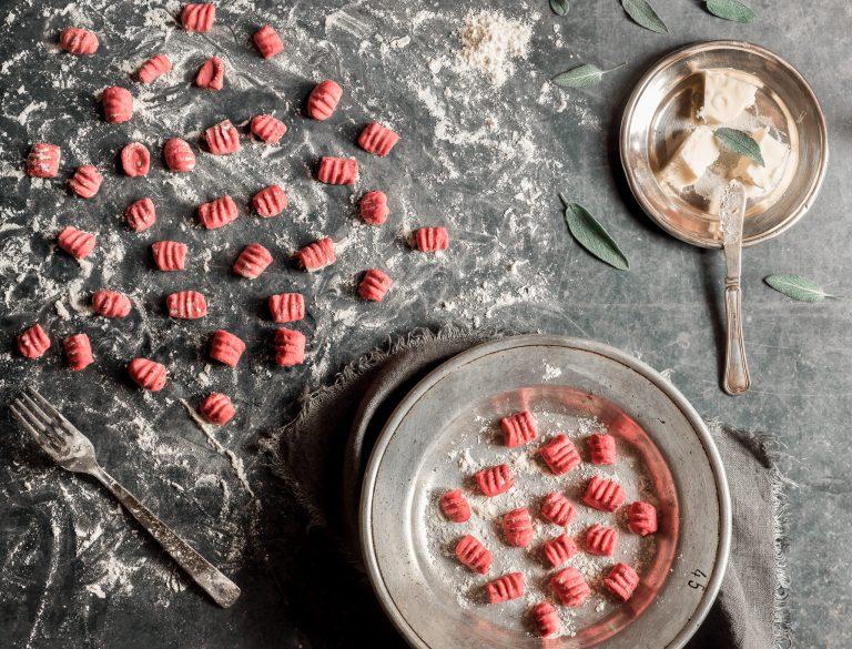 recette de gnocchis roses