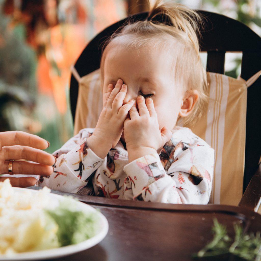 Bébé boude tous les légumes que je lui propose