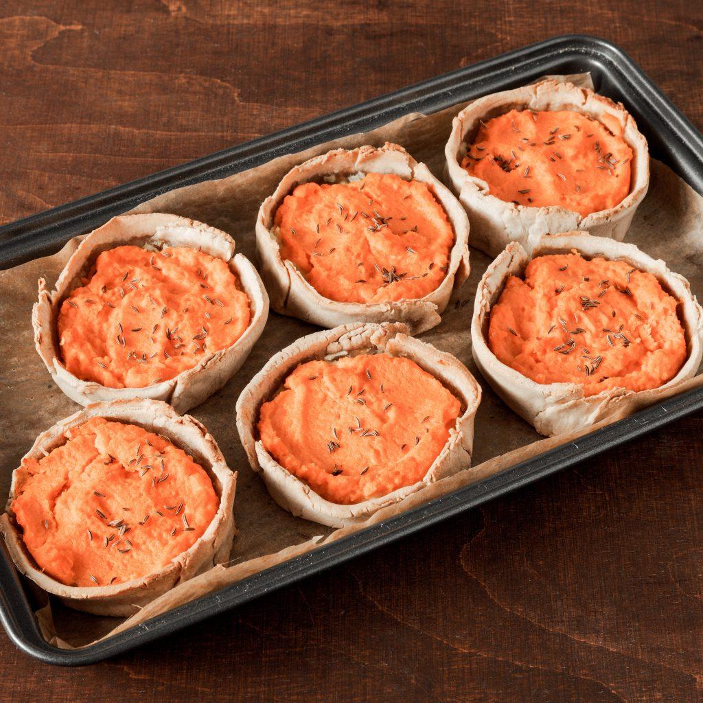 Flans à la carotte (une recette top si vous pratiquez la DME)